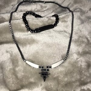 Other - Mens necklace and bracelet duo